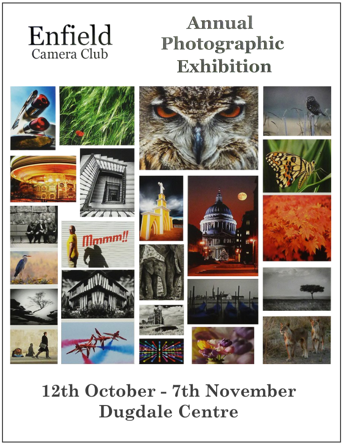 202011 enfield camera club exhibition