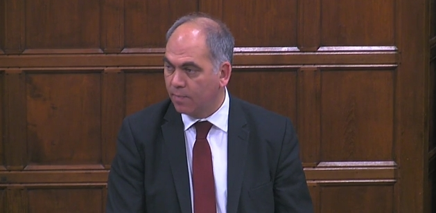 bambos charalambous in westminster hall