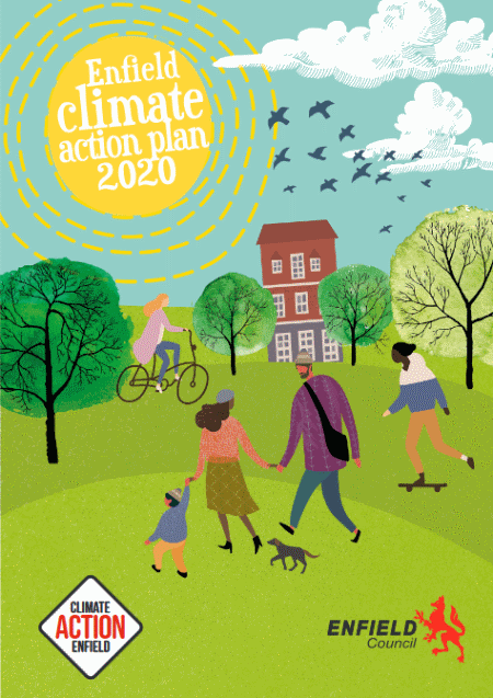 enfield climate action plan 2020 cover