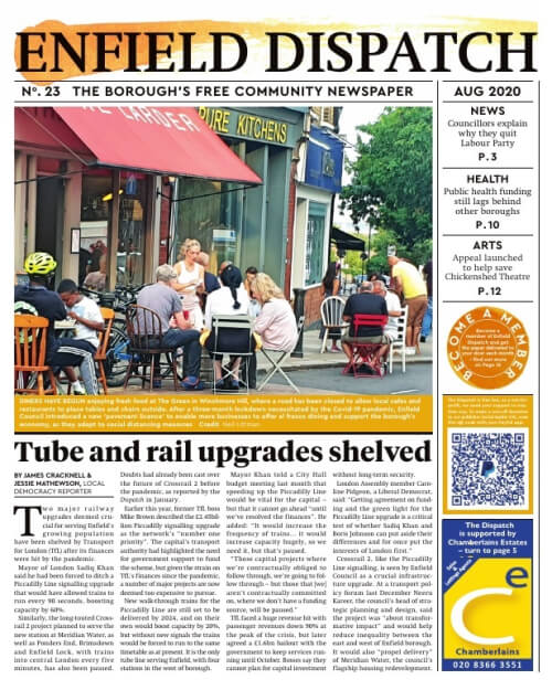 August's Enfield Dispatch
