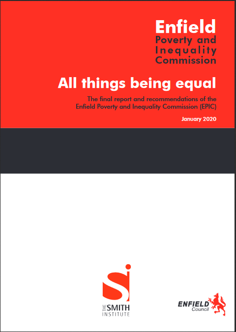 enfield poverty report cover