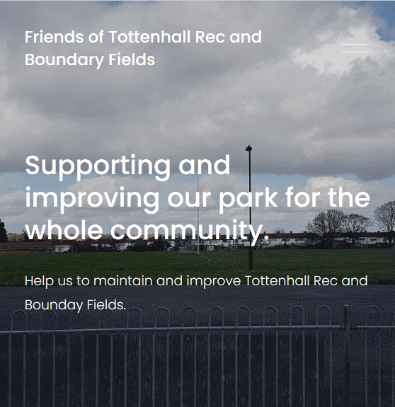 friends of tottenhall rec