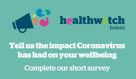 Let Healthwatch know how the virus is affecting you - for future planning purposes