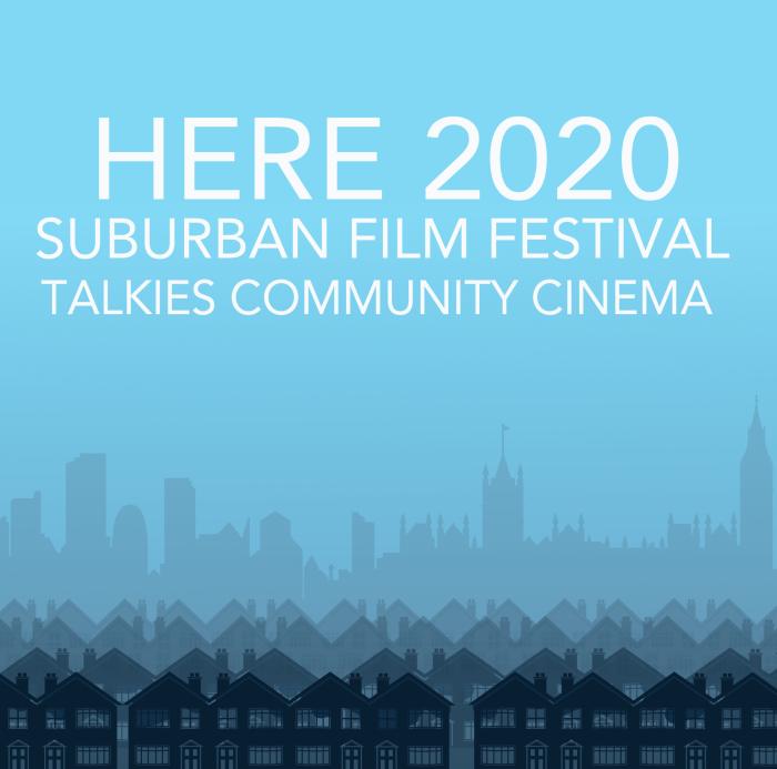 here suburban film festival logo