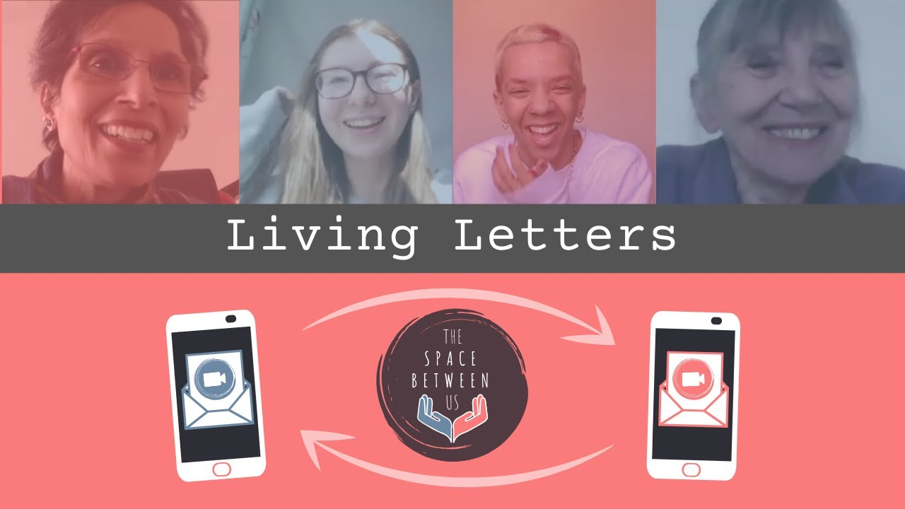 Filling the space between us with Living Letters