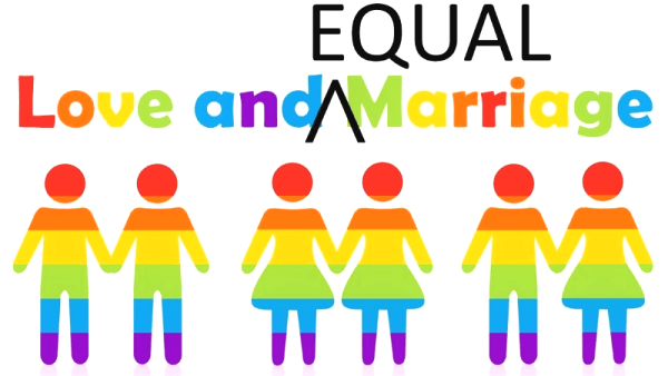 love and equal marriage logo