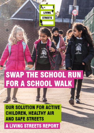 swap the school run for a school walk