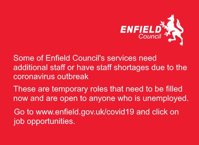 temporary jobs with enfield council