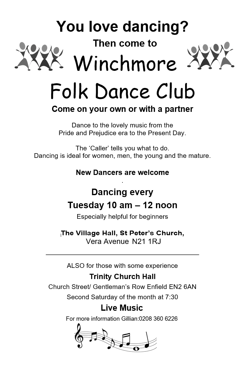 winchmore folk dance club