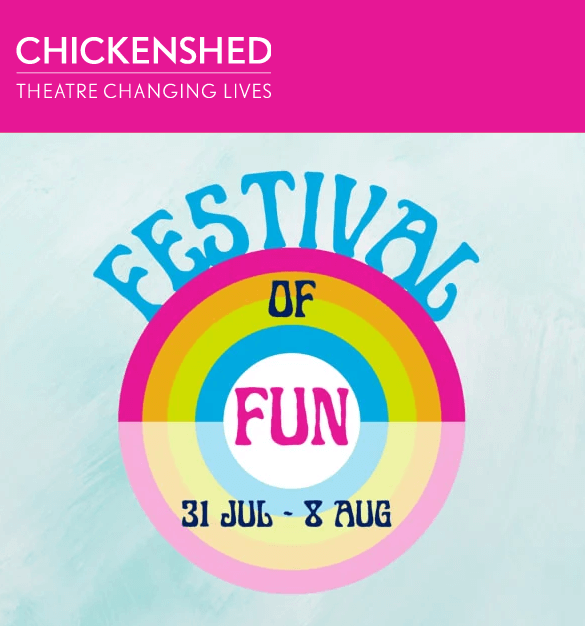 poster or flyer advertising event Chickenshed: Festival of Fun