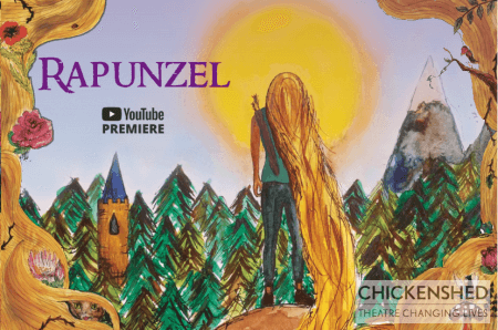 poster or flyer advertising event Chickenshed presents Rapunzel (YouTube Premiere)