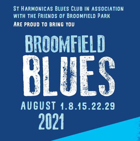 poster or flyer advertising event Broomfield Blues: Down Home Blues