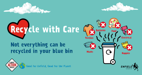 recycle with care