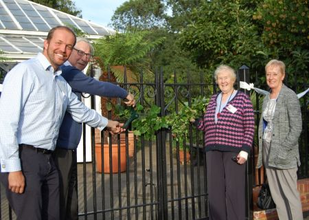 broomfield conservatory railings opening ceremony