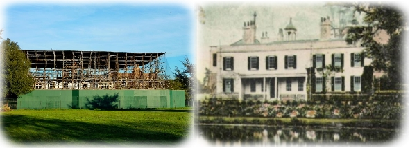 Broomfield House - before and after proposed renovation