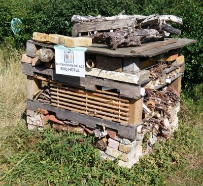 bug hotel in broomfield orchard