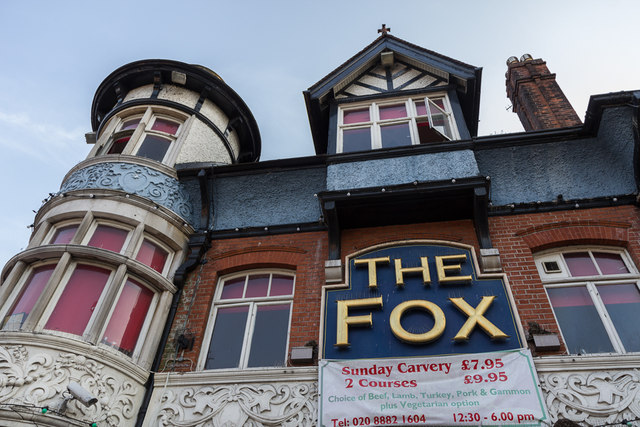 Fox Palmers Green geograph 3461584 by Christine Matthews