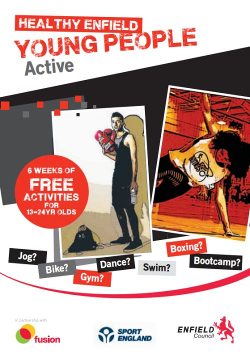 healthy enfield young people active