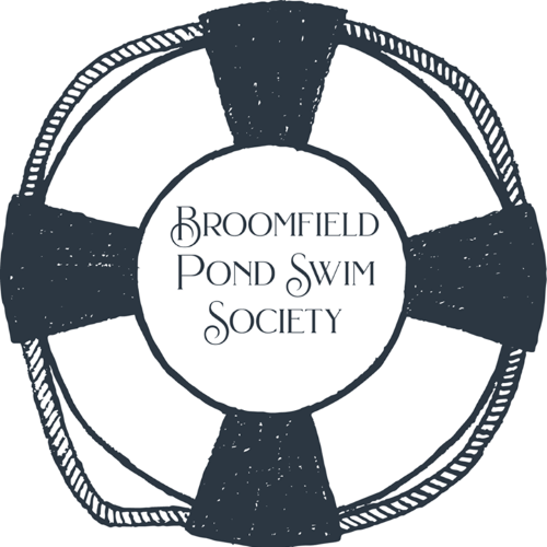 broomfield pond swim society logo