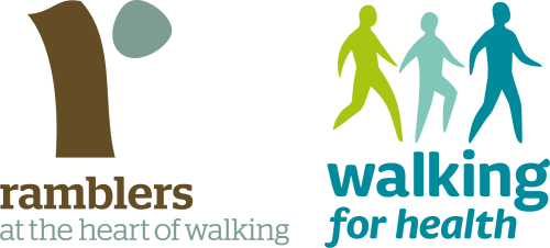 ramblers walking for health logo