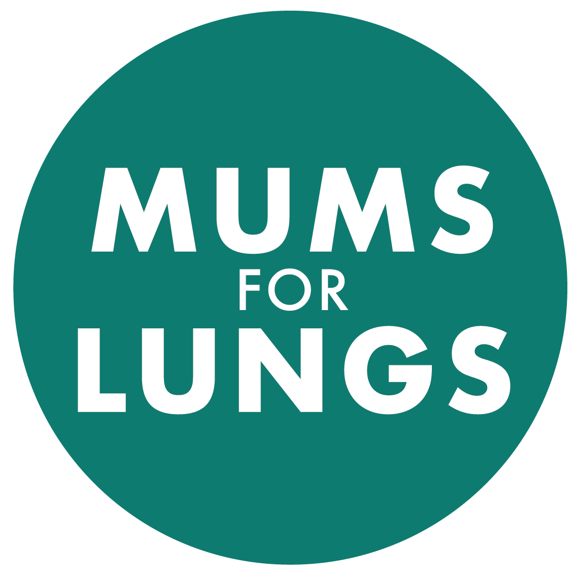 mums for lungs logo