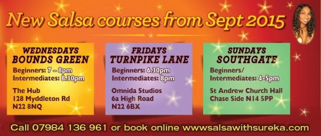 new salsa courses from sept