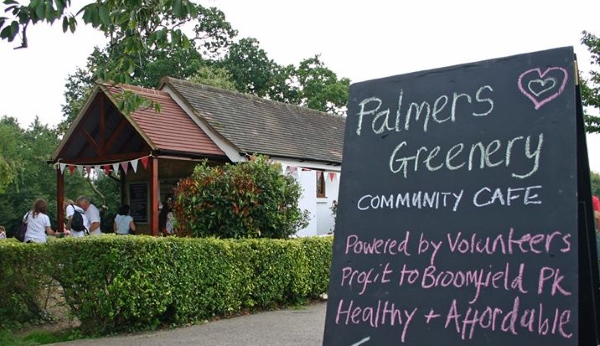 palmers greenery community cafe