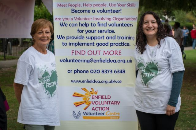 pg festival enfield voluntary action
