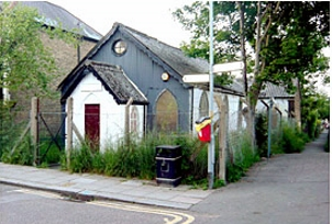 tin tabernacle bowes park