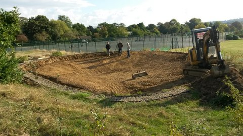 Come and check out the new Wildlife Pond... - Comment by Colin Younger
