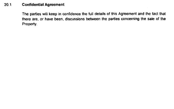 Confidentialityclausefromsale-purchaseagreementDecember2009.jpg